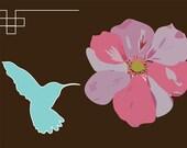 Hummingbird Postcard (mix and match set of 8)