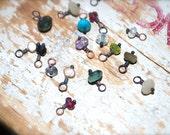 Zodiac Constellation | Add A Gemstone Charm | Brass | Sterling Silver | Gold Filled