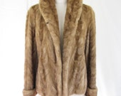 1940's Mink Jacket Long Sleeve with Cuff