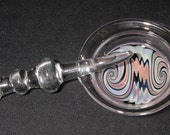 "Glass Dish and Dabber set  ""Free Shpping"""