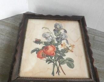 Rare Early Victorian Vanity Shadow Box Circa 1900
