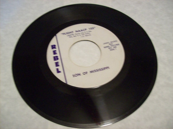 Flight NAACP 105 Rebel Records 45rpm The Voice of Alabama