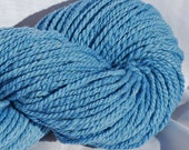 Cestari Fine Merino Worsted Weight Yarn Naturally Dyed in Blue Sky