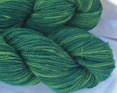 Fingering Weight Organic Merino Yarn Naturally Dyed in Sunlight Through the Woods