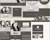 INSTANT DOWNLOAD - Faith Premade Photography Marketing Set Templates