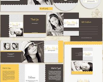 Lisa Mae Premade Photography Marketing Set Templates