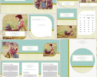 Andrea Premade Photography Marketing Set Templates