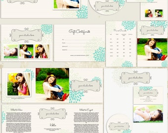 SALE --- 50% OFF -- Whimsy Premade Photography Marketing Set Templates
