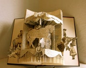 Altered Book- Sunday Afternoon Carousel Ride
