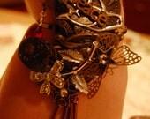 Sparkling Steampunk Bracelet - Hangin' Retro