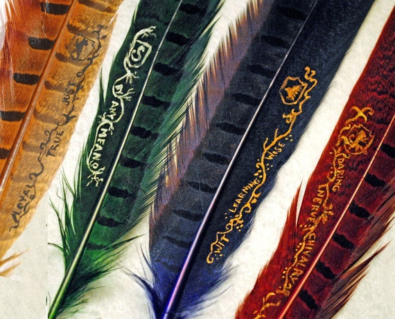 Hogwarts House Quill