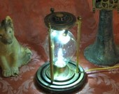 Steampunk Lamp Steam Punk Light Crookes Conrow Desk Lamp Vintage Antique Light Victorian Industrial Lamp Home Decor By Victorian Machines