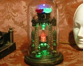 Steampunk Edison Spirit Predictor Machine Steam Punk Tesla Apparatus Weird Science Ghost Machine Metaphysical Geekery Victorian Machines