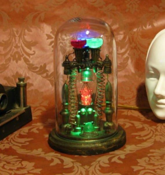 Steampunk Edison Spirit Predictor Machine Steam Punk Tesla Apparatus Weird Science Ghost Machine Metaphysical Geekery Victorian Machines