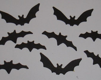 Bat Die Cuts for Scrapbooking and Paper Crafts x 21  Halloween Spooky Cards Embellishments