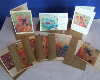 Greeting Cards Set of 9