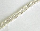180 of Karen Hill Tribe Silver Facet Beads 1.5 mm. :kg0990
