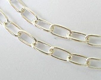 18 inches of 925 Sterling Silver Chain 4x6.5 mm. :th0579