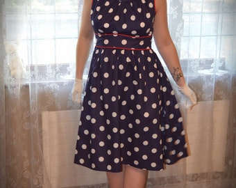 Polka dot dress 'Lollipop' (Maternity) -Custom made-