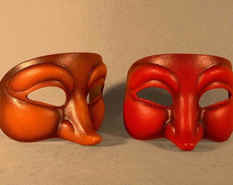 Curious Character Mask