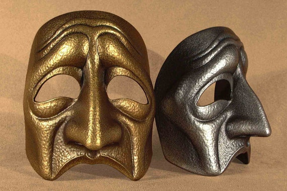 Tragic Theatre Mask
