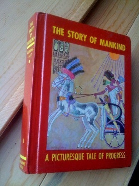 The Story of Mankind Vol 1 Beginnings 1 and 2  Olive Beaupre Miller  1963