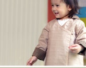 No Serger - PDF Pattern - Kino Jacket (Reversible) for 12M - 5T and tutorial.