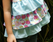 PDF Pattern - Belle Top for 12M - 5T and tutorial.