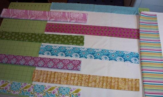 CUSTOM LISTING - Modern Baby Quilt For Tiffany