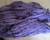 8 Yards LILAC Sari Silk Ribbon