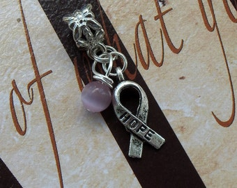 Rett Syndrome, Hodgkin's Disease, Cancer Awareness Charm Bead, European Style