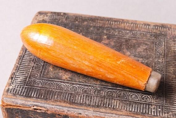 SALE... Vintage wood handle. Primitive