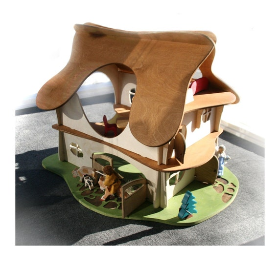 Custom Listing for Kristy.  Please don't purchase unless you are Kristy -Wooden Waldorf Playhouse / Dollhouse