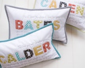 Custom Child's Name Pillow