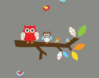 Wall Art Decals Branch Nursery Vinyl Wall Decal