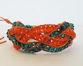 Handmade Chan luu style  De Santos Braid Bracelet