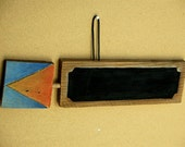 FREE SHIPPING wall hanging directional arrow - chalkboard