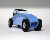 Wood Toy Car -boy's gift -The Blue Roadster
