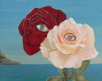 The Lovers (roses) - Eric Kempson