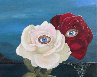 Lovers (roses by night) Eric Kempson