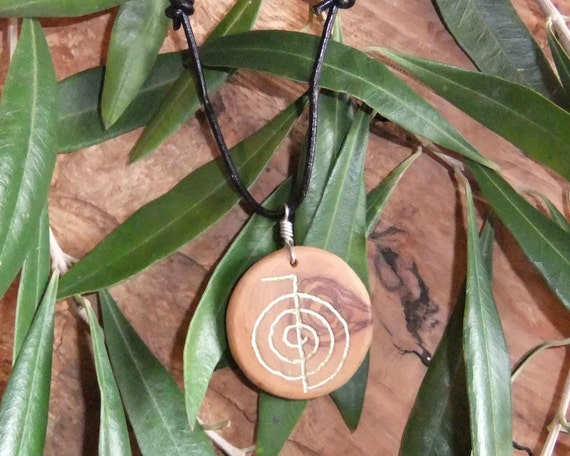 Reiki, Choku Rei , soal of the universe, olive wood necklace