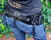 Genuine Leather Utility Belt  -SOMA