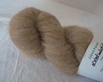 MARKED DOWN - Medium Brown 100% Alpaca Roving