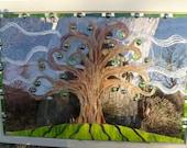 Tree window mosaic