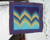 Sea to Sky Bargello Quilt...Clearance Priced