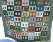 Painted Cinder Block Quilt