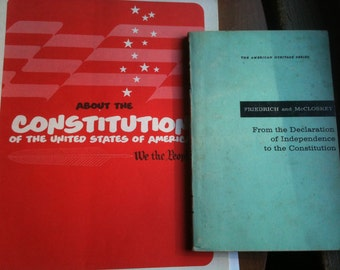 Two Vintage American History Publications