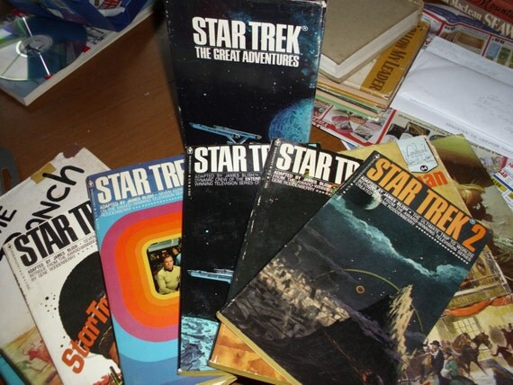 Star Trek 1972 Book Set - Boxed Collection