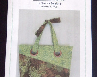 Pattern-The Large Angle Pocket Handbag-1006