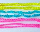 Summer Skinny Neon Headbands